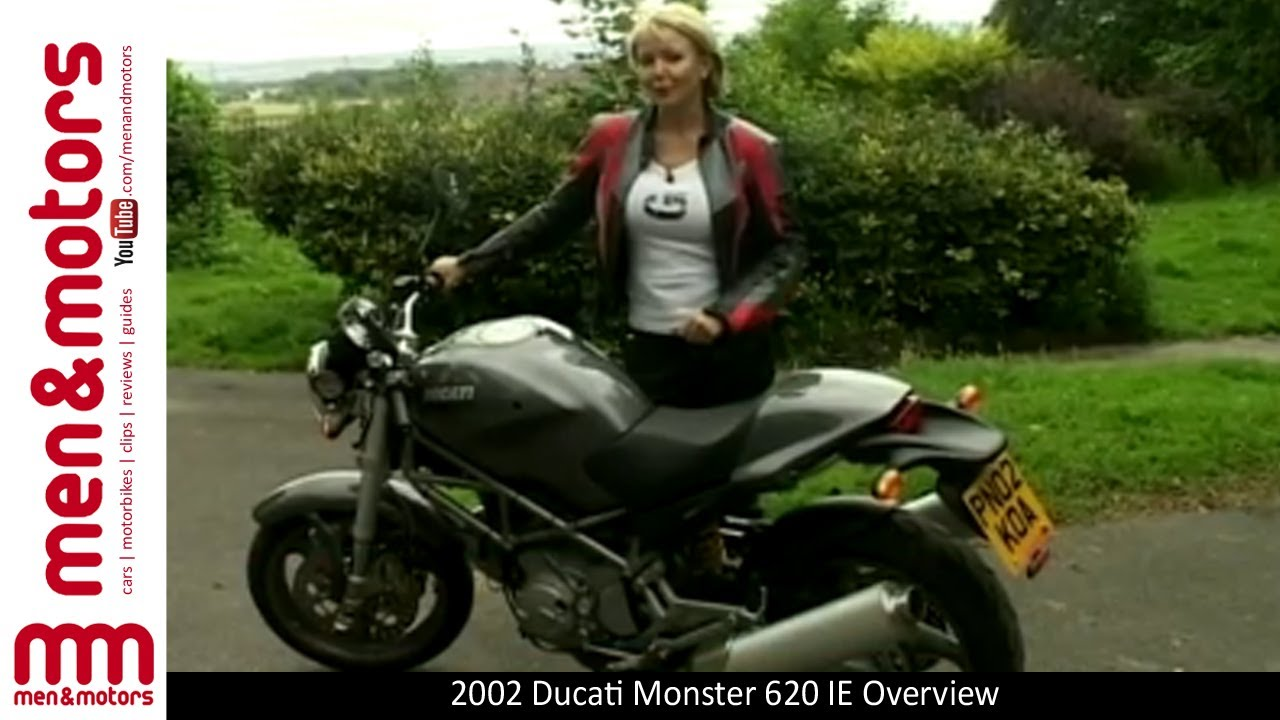 2002 ducati monster 620 ie overview - youtube