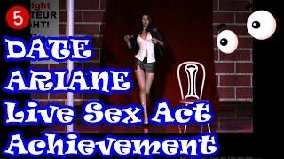 Date Ariane #05 - Let's play Ariane's Live Sex Act Achievement 💚