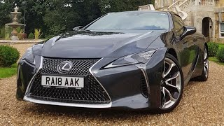 2018 Lexus LC500 V8 First Drive and Impressions!
