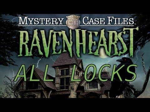 Mystery Case Files: Ravenhearst Walkthrough - All Locks