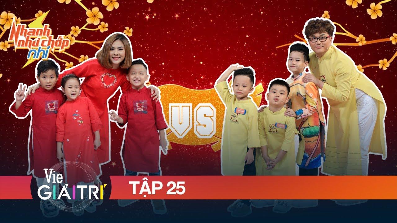 #25 Đội hình Nhí kiệt xuất gây bão trên sân khấu của Trấn Thành | NHANH NHƯ CHỚP NHÍ – Mùa 1
