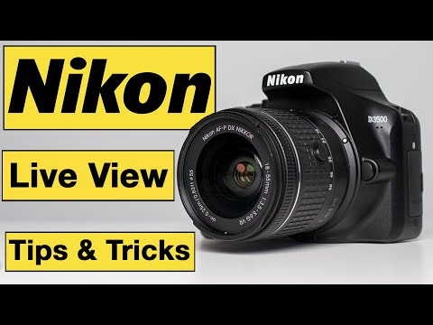 Nikon Photography Tips & Tricks for Beginners – Live View for photography & video
