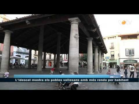 VOTV - L'Idescat mostra els pobles vallesans amb més renda per habitant