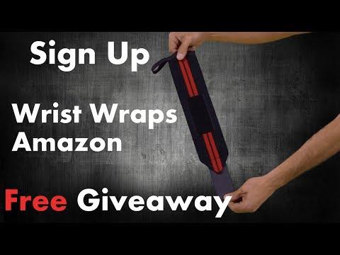 Wrist wraps amazon Giveaway! WinWristWraps.info