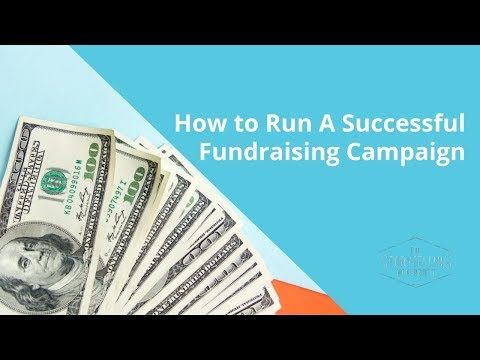 How to to start a successful fundraising campaign 2021