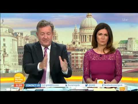 Piers Morgan- Women Will Never Beat Men At Football