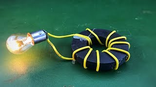 Amazing Free Energy Generator New For 2019 | Electric Using Magnet 100%