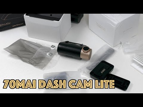 Видео регистратор 70MAI Dash CAM Lite с GPS