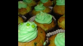 Making  Green Maraschino Cherry Muffins With My Kitchen Aid Mixer