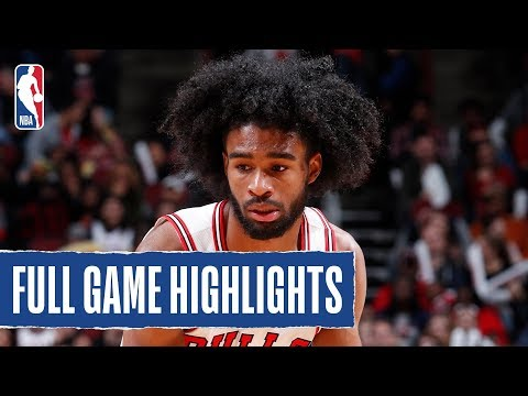 HAWKS at BULLS   Coby White Catches FIRE in Chicago   2019 NBA Preseason