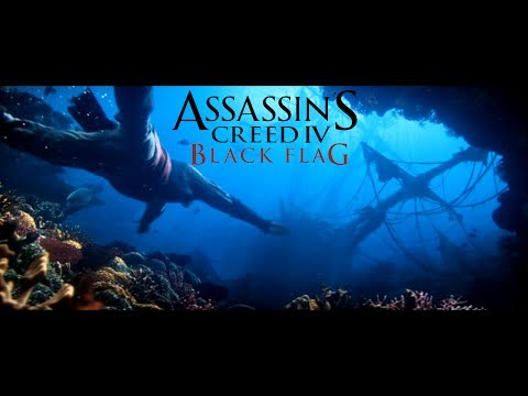 Assassin's Creed IV Black Flag - Exploring All Underwater Shipwrecks [100%]