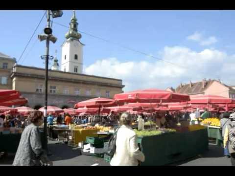 Zagreb (Croatia): Everyday life at the market
