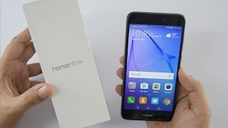 Honor 8 Lite Smartphone Unboxing amp Hands On Overview