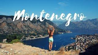 MONTENEGRO TRAVEL VLOG | FOOD & FITNESS!