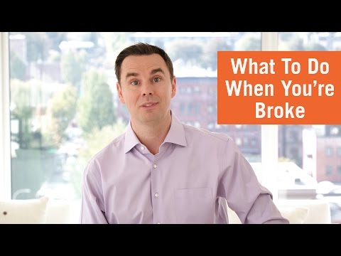 What To Do When You're Broke