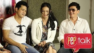 PEPtalk. Robin and Rommel Padilla admit women prefer Rustom more than both of them