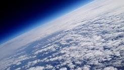 GoPro fällt aus Weltraum und filmt dabei | Wetterballon in Stratosphäre