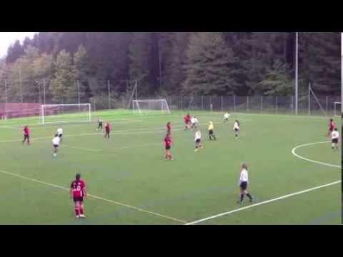 Leysin American School - Girls Soccer vs CDL 2013