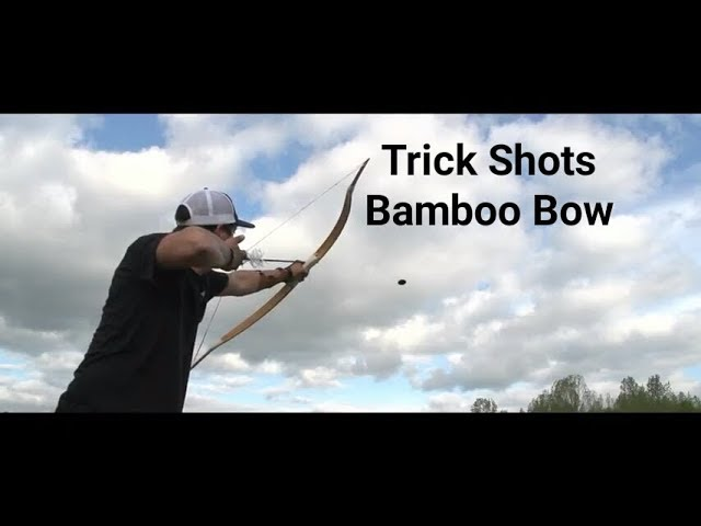 Instinctive Archery: Trick Shots Primitive Bow James Jean PLUS GIVEAWAY!