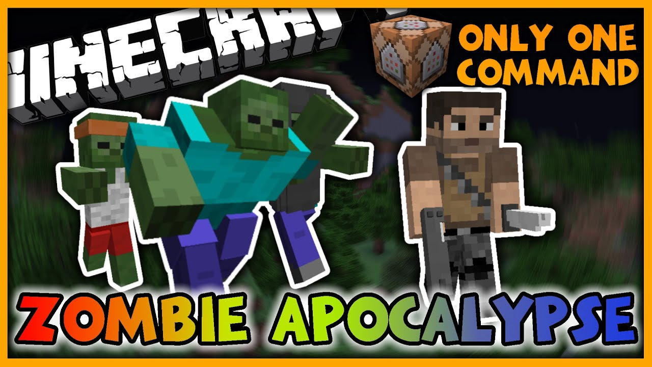 Zombie Apocalypse in One Command  New Zombies, Guns, and More