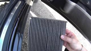 Замена салонного фильтра в Toyota Camry V 50  самостоятельно