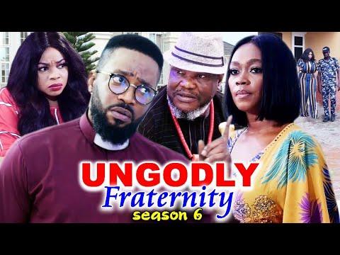 Download UNGODLY FRATERNITY SEASON 6-(Trending New Movie)Fredrick Leonard 2021 Latest Nigerian  Movie Full HD