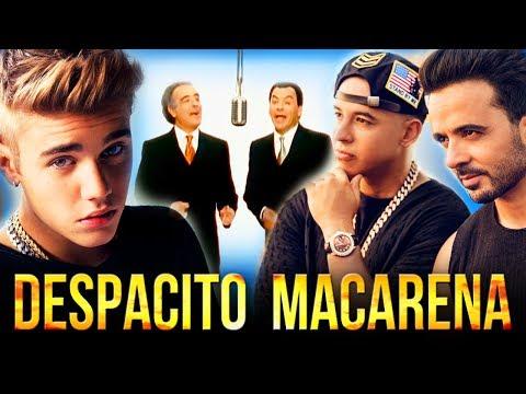 """Luis FonsiDaddy YankeeJustin Bieber Vs Los Del Rio - """"Despacito Macarena"""" Mashup"""
