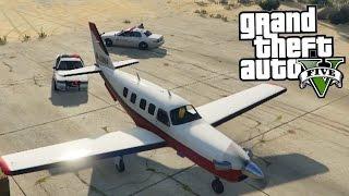 GTA 5 - Crime Spree Airlines!!!