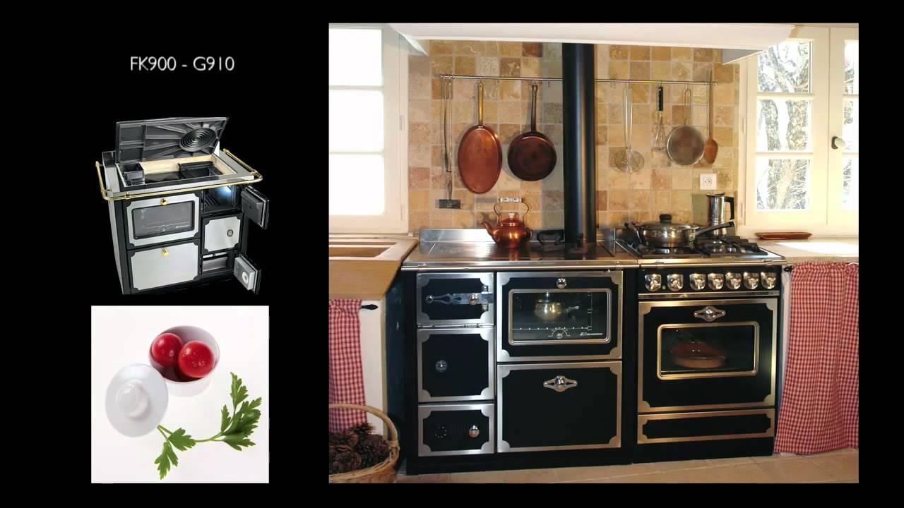 Cuisinieres et fourneaux wanders chauffage youtube for Prix cuisiniere la cornue