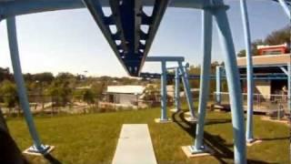 Flight School Roller Coaster POV Front Seat Legoland Florida Onride