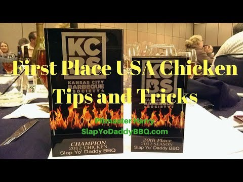 Competition chicken tips and tricks best award winning first place KCBS BBQ chicken