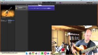 Video Recording Acoustic Guitar With GarageBand download MP3, 3GP, MP4, WEBM, AVI, FLV Juli 2018