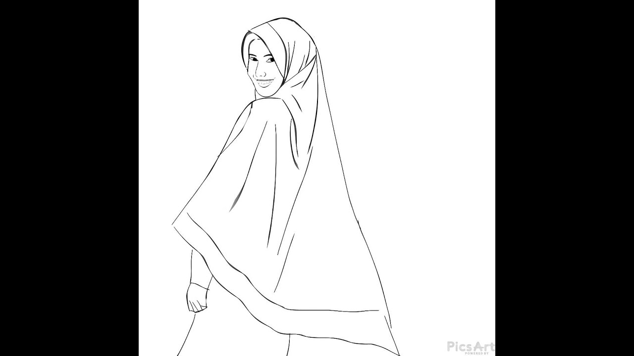 Kartun Muslimah With Picsart Youtube