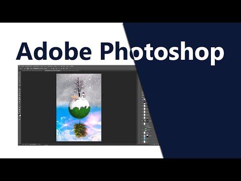 Создаем коллаж в Photoshop Зима - Лето. Уроки Photoshop (Фотошоп)