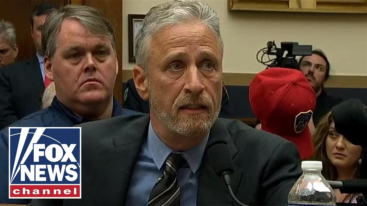 Jon Stewart, Sen Gillibrand announce 'landmark' legislation for veterans