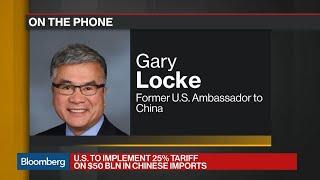 Ex-Amb. Says U.S. China Tariffs to Hurt American Companies