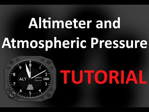 FSX Basic Tutorial: Altimeter and Atmospheric Pressure