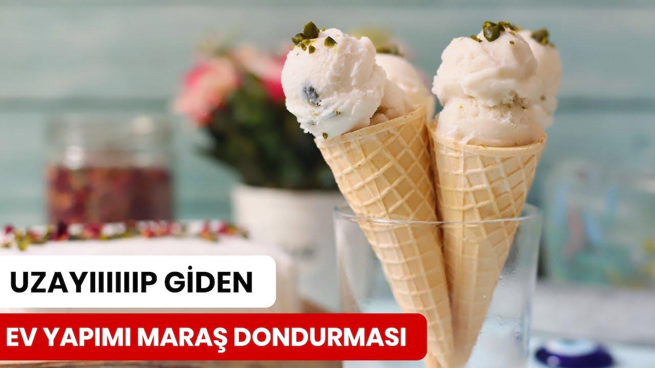 Evde Uzayıp Giden Maraş Dondurması Nasıl Yapılır?