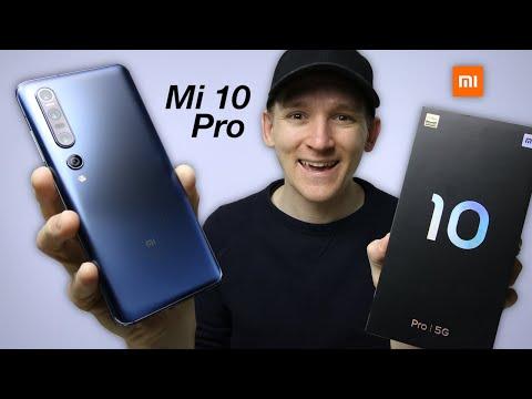 Xiaomi Mi 10 Pro - UNBOXING & FIRST LOOK
