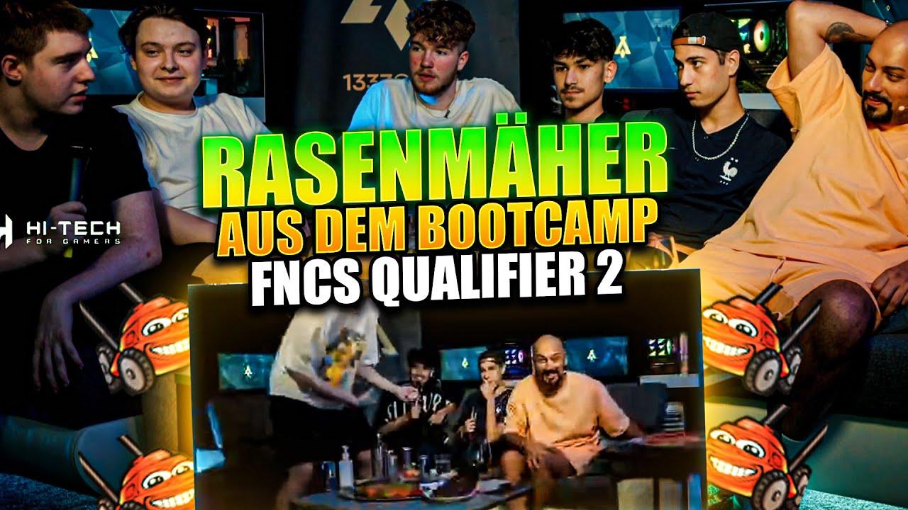 RASENMÄHER LIVE aus dem BOOTCAMP | FNCS Qualifier Teil 2