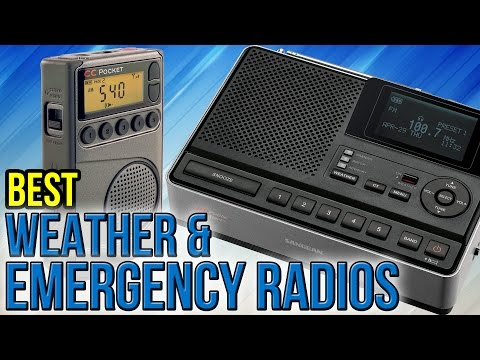 10 Best Weather & Emergency Radios 2017