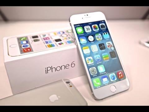 Apple Iphone 6 в России - распаковка, первое включение