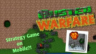 RTS - Rusted Warfare Stragety Games on Mobile