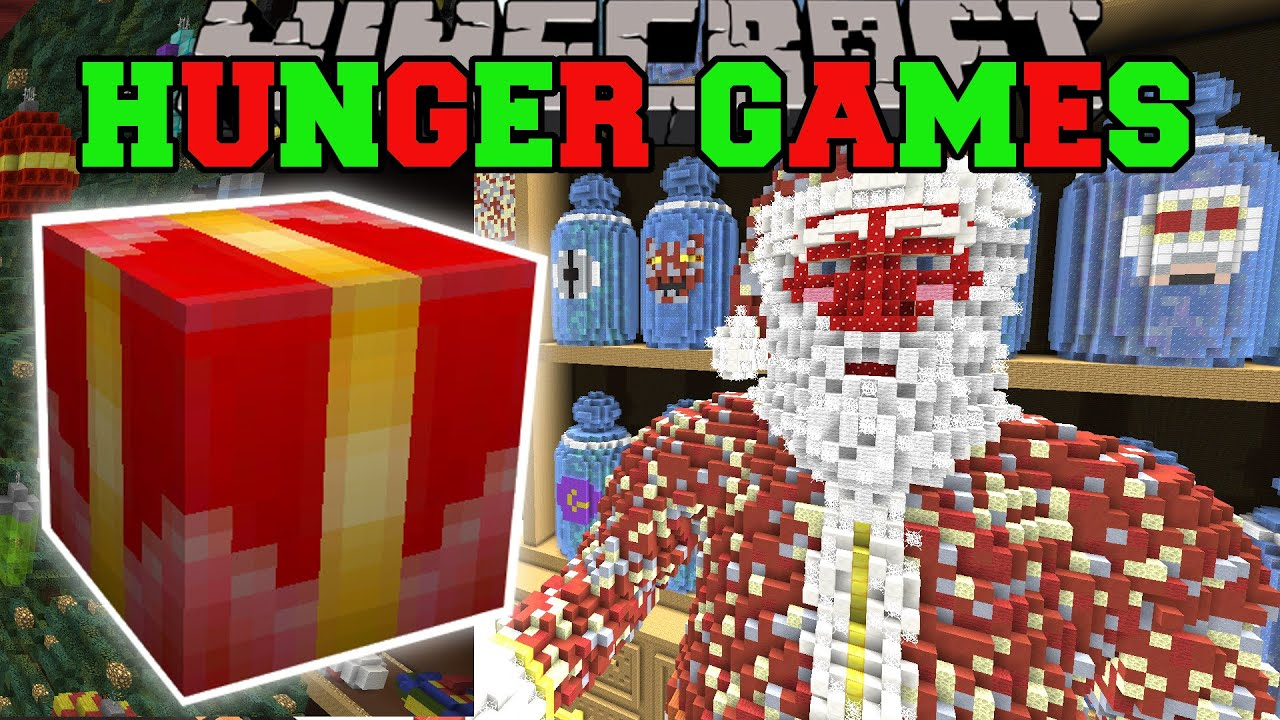 Minecraft TOY STORE HUNGER GAMES Lucky Block Mod