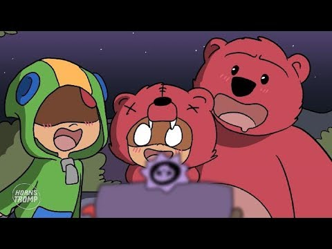BRAWL STARS ANIMATION: NITA & LEON WINS IN BRAWL-O-WEEN (Parody)