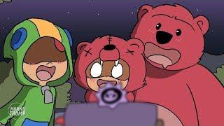 brawl-stars-animation-nita-amp-leon-wins-in-brawl-o-ween-parody