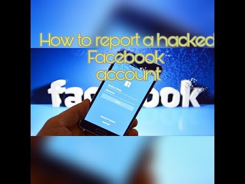 How To Report A Hacked Facebook Account