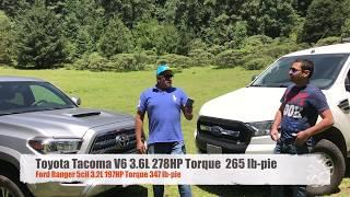 Review Tacoma 2017 Vs Ranger 2017 Parte 1