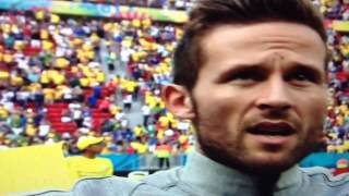 National amthem of France vs Nigeria HD  Brazil 2014