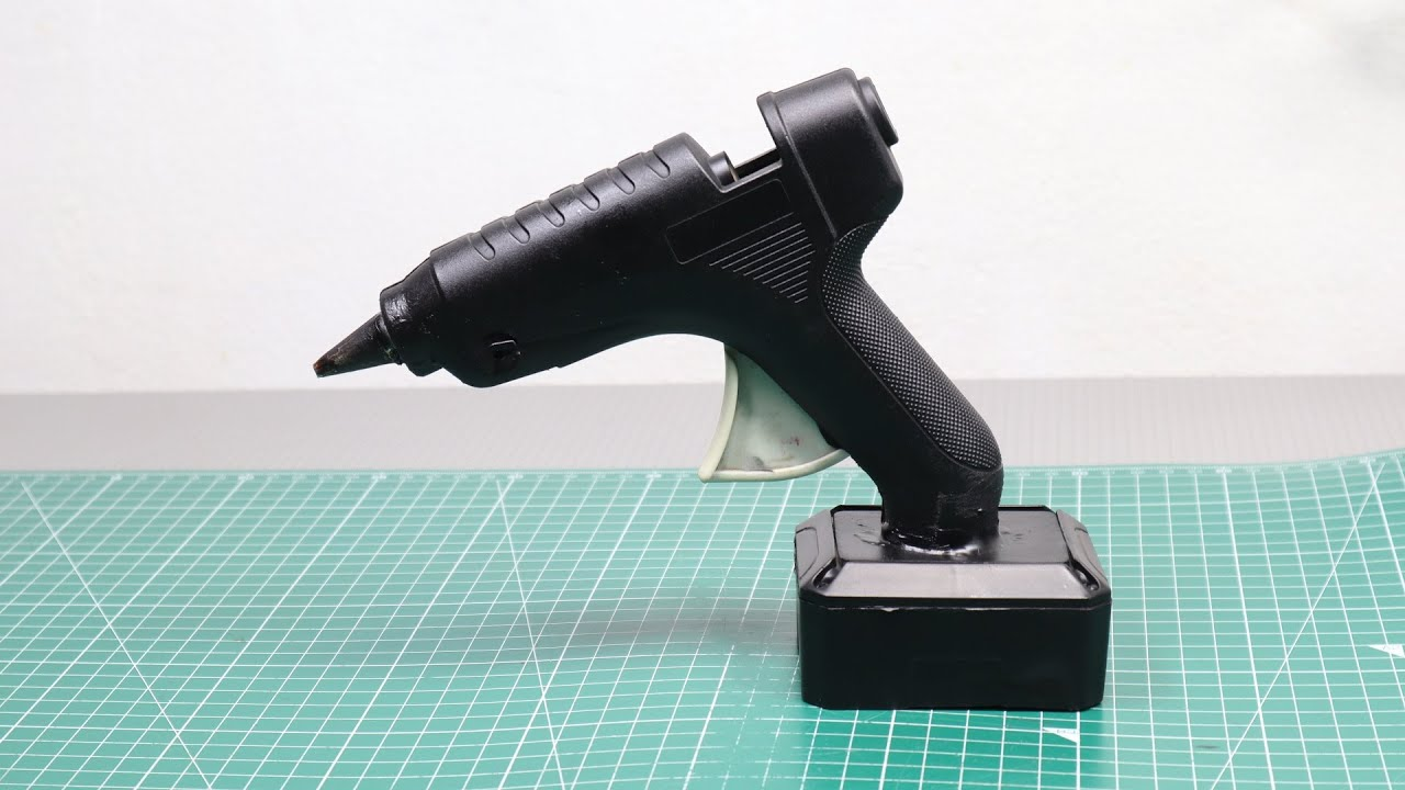 How Make Rechargeable Glue Gun at Home